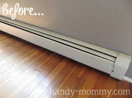 painting baseboard heaters
