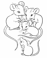 Small Picture Valuable Idea Mice Colouring Pages 9 Cute Mouse Coloring Pages