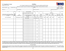Payroll Templates 24 Certified Payroll Excel Template Samples Of Paystubs 18