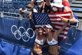 April Ross and Alix Klineman of US win ...