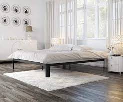 modern low bed frame. Fine Frame In Style Furnishings Modern Low Profile Lunar Platform Bed Frame With Metal  U0026 Durable Wood On A