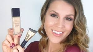 estee lauder perfectionist youth infusing makeup review demo