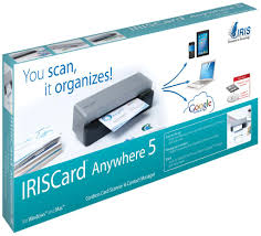 Card Scanner Amazon Com Iriscard Anywhere 5 Portable Business Card Recognition