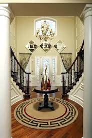 round foyer table ideas how to decorate a foyer stunning design for round foyer tables ideas round foyer table