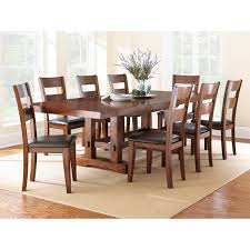 Steve Silver Company Zappa Medium Cherry Dining Table with Two 18\