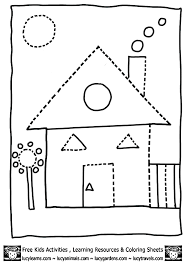 Small Picture house shape coloring pages dot to dots 8gif 603848 Shape