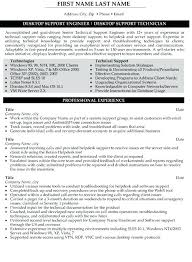 Desktop Support Resume Examples Unique Technical Support Specialist Resume Sample Kubreeuforicco