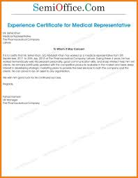 10 Sales Experience Certificate Gin Education