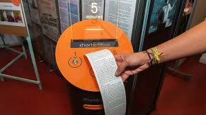 Short Edition Vending Machine Cool Innovative Vending Machine Offers Short Stories Bookstr