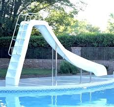above ground swimming pool slides slide ideas photo gallery backyard oasis pool ladder with slide above ground