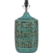 ceramic table lamp teal com