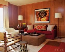 Living Room Wood Paneling Decorating How To Decorate Around Dark Wood Paneling Decorating With Wood