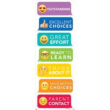 Behavior Clip Chart Emoji Fun Desktop Behavior Clip Charts