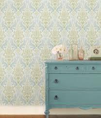 Powder Room Wallpaper Peel And Stick Wallpaper Powder Room Contemporary With Sink