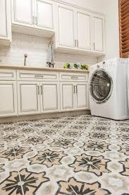 Rubber Kitchen Flooring Ethnic Patterned Ceramic Vinyl Tile Flooring For Kitchens Artenzo