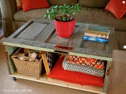 Coffee Tables With Basket Storage Inspirational Homemade Coffee Table Ideas For Minimal Budget End