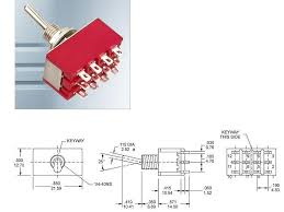 sw26 4pcs miniature toggle switch 3 position on off on 4pdt sw26 4pcs miniature toggle switch 3 position on off on 4pdt