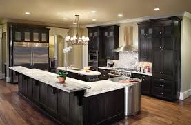 Kitchen : Simple Small Kitchen Island Designs Kitchen Astounding Black L  Shaped Kitchen Islands Ideas With Bar Style F Raised Granite Countertops  And ...