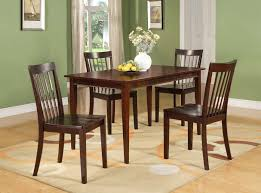 stylish d6660 series 5 pc set cherry wood dining room kitchen table and 4 cherry wood dining room chairs plan