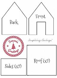 Gingerbread House Patterns Adorable Classic Gingerbread House Cookie Mix Recipe Includes Template