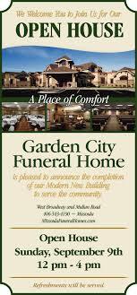 garden city funeral home open house