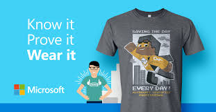 Microsoft Free Certification Get Certified With Microsoft Get An Awesome T Shirt Oksystem
