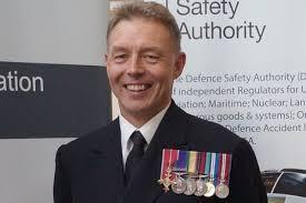 Rear Admiral Richard Thompson CBE MA BEng(Hons) CEng FRAeS RN - GOV.UK