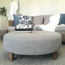 round fabric ottoman coffee table astounding round fabric ottoman mat material large blue c material