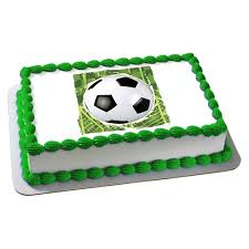 Soccer Ball Icing Decorations Soccer Ball Edible Image Cake Decoration 36