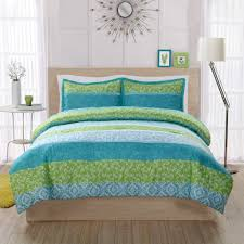 image of xl twin comforter sets for college green