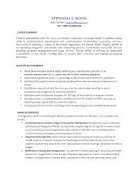 Resume Sample Human Services Counselor Resume Sample Camp