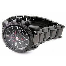 original burberry sport black steel mens chronograph watch bu7703 home > mens watches >
