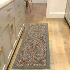2 x 5 rug sweet home collection medallion design ocean green 2 ft x 5 ft