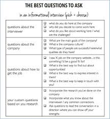 group interview questions the questions to ask in an informational interview