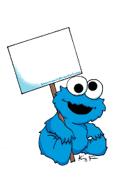 cookie monster drawing cute. Delighful Monster Cookie Monster Baby Clipart  Kid For Drawing Cute