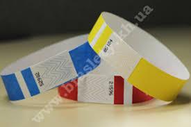 Контрольные браслеты для клубов дискотек гостиниц аквапарков  Бумажные браслеты tyvek® 3 4 19 мм
