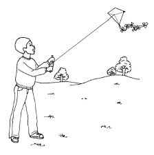 Small Picture Kids Korner Free Coloring Pages Kite Flying