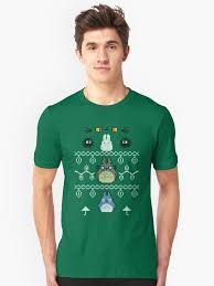 Totoro Christmas | Geeky Ugly Christmas Sweaters | POPSUGAR Tech ...