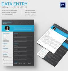 Data Entry Resume Template - 8+ Free Word, Excel, Pdf Format ...