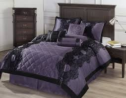 style comforters native american indian themed  piece victorian style deep dark purple and black bedding set