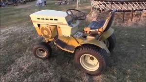 final start and drive 1974 sears ss 16 twin garden tractor