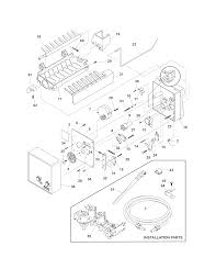 Frigidaire refrigerator parts model frs6r5esb9 sears partsdirect ukf7003 maytag fridge filter at wiring diagram msd2456gew