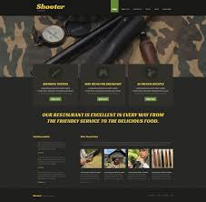 Winchester Website Design Website Template 51980 Shooter Shooting Club Custom Website