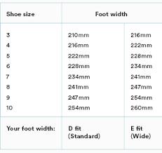 Garnet Hill Kids Size Chart Conclusive Skechers Shoe Size Chart Inches 2019