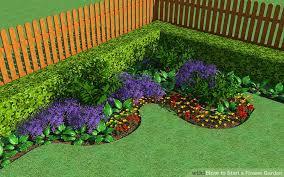 image titled start a flower garden step 1