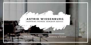 Inspiring Women Seminar Series - Astrid Wissenburg - 20 FEB 2019