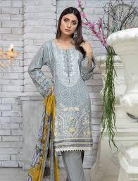 Designer Linen Clothing Uk Munira Designer Linen Ready Made Suit Grey