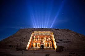 Sound And Light Show Philae Temple Aswan Sound Light Show Philae Temple Show Egypt Egypt