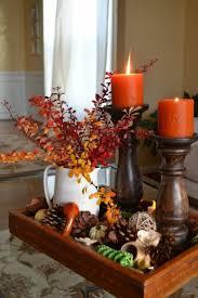 Pine Cone Candles Decorating Endearing Thanksgiving Diy Decor Ideas Kropyok Home