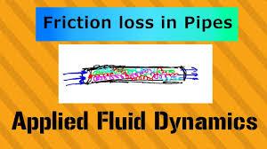 Hazen Williams Formula Pipe Flow Chart Hazen Williams Equation For Friction Loss Applied Fluid Dynamics Class 031